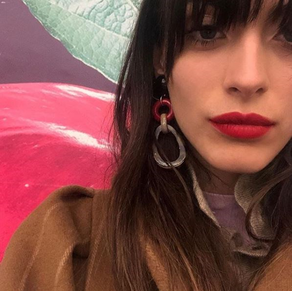 """**Chunky, colourful resign earrings**  For when you're sick of dainty and subtle and need something to frame your [face](https://www.elle.com.au/beauty/best-french-skincare-products-15806