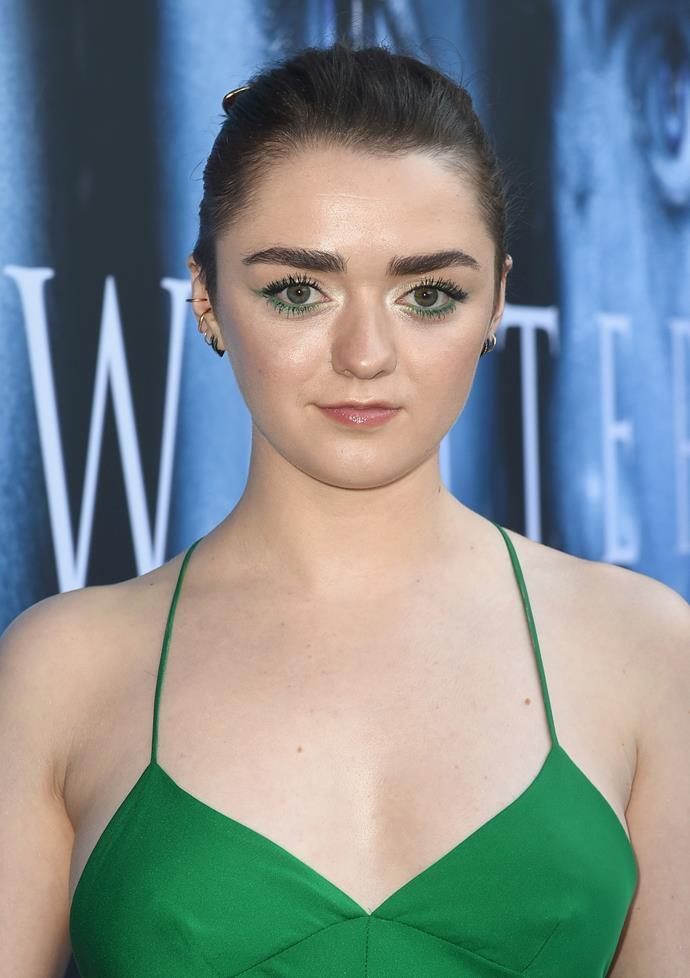 Maisie Williams' real name is Margaret Constance Williams.