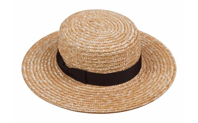 "Straw boater, $79 at [Lack of Color](https://www.lackofcolor.com.au/products/the-spencer-boater?gclid=EAIaIQobChMIyI3WwqS-3AIVU6mWCh2XEAwMEAQYASABEgIfDfD_BwE|target=""_blank""