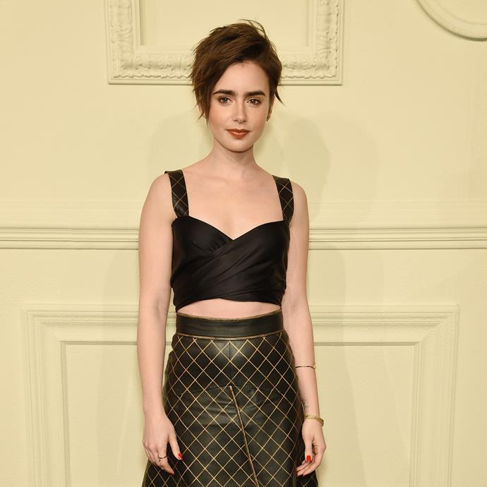 """***Lily Collins***<br> *3 years*<bR><br> In what is his least significant age gap (not including Olivia Culpo and Georgia Fowler, who were both his age), Nick, then 24, reportedly dated Lily Collins, then 27, for a few weeks. The relationship, however, didn't pan out.<br><br> """"We went out a couple of times,"""" he told *[Mirror UK](https://pagesix.com/2016/05/27/nick-jonas-confirms-hes-dating-lily-collins/