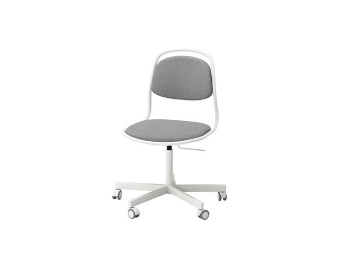 """**Julia Green, Greenhouse Interiors:** """"I am currently eyeing off the ÖRFJÄLL swivel office chairs in orange. They are fab and stylish steal for under $100 each.""""  *ÖRFJÄLL chair, $79, at [IKEA](https://www.ikea.com/au/en/catalog/products/S99162442/