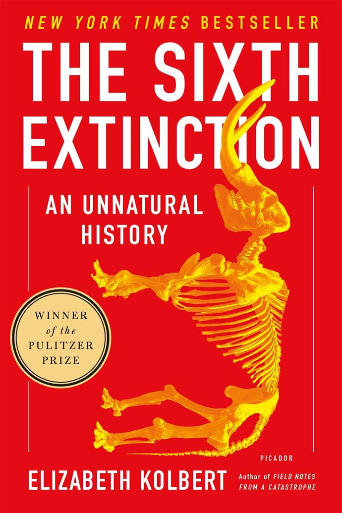 """Over the last half a billion years there have been 5 mass extinctions. In this Pulitzer Prize-winning book, Elizabeth Kolbert explores how a 6th extinction is just around the corner—caused by our harmful actions on the environment.  <br><br> *The Sixth Extinction: An Unnatural History* by Elizabeth Kolbert, $21.18 at [The Book Depository](https://www.bookdepository.com/The-Sixth-Extinction-Elizabeth-Kolbert/9781250062185?redirected=true&utm_medium=Google&utm_campaign=Base1&utm_source=AU&utm_content=The-Sixth-Extinction&selectCurrency=AUD&w=AF45AU967S2KHUA80RX1&pdg=pla-104398008339:kwd-104398008339:cmp-680104063:adg-35441289072:crv-151945028117:pid-9781250062185:dev-c&gclid=CjwKCAjw7vraBRBbEiwA4WBOn6NEhbYUZUfv6TDzXyPEwmrtHMtc5YQuFGQj-XD1pknBbUaRR3XhrxoC5YoQAvD_BwE