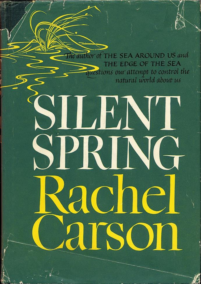 """Rachel Carson's foresight showed how the widespread use of pesticides in the US caused devastating damage to wildlife and ecosystems. She spent years collecting evidence and eventually defending herself from lawsuits and sexist abuse—a true environmental hero. <br><br> *Silent Spring* by Rachel Carson, $20.83 at [The Book Depository](https://www.bookdepository.com/Silent-Spring-Rachel-Carson/9780618249060