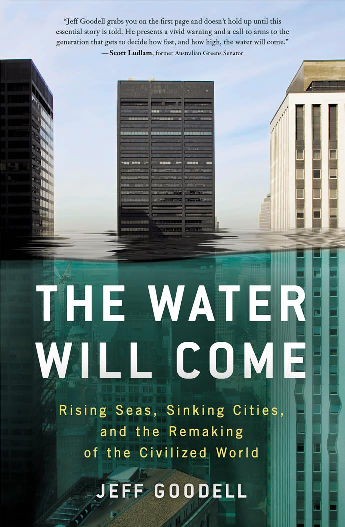 """In Jeff Goodell's novel, it is not a matter of if the floods will come—but when. This book deals with the reality that we and our planet are facing due to climate change.  <br><br> *The Water Will Come* by Jeff Goodell, $27.35 at [Booktopia](https://www.booktopia.com.au/the-water-will-come-jeff-goodell/prod9781760640415.html?source=pla&gclid=CjwKCAjw7vraBRBbEiwA4WBOn6GjvZKBaByqhWGGh44jXIaAYiVKsCBR3Jyda6ImKpJ-BVWouqTpyRoC9z0QAvD_BwE