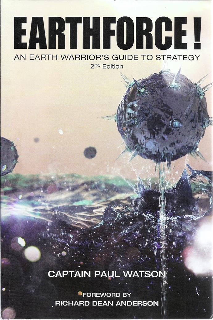"""Captain Paul Watson believes that we are fighting a war to save the planet. This book works like a manual, by teaching you how to become a true eco-warrior. <bR><br> *Earthforce* by Paul Watson, $52.56 at [Amazon](https://www.amazon.com/Earthforce-Earth-Warriors-Guide-Strategy/dp/0961601957