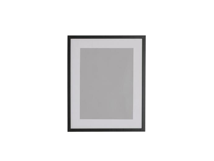 """**Alice Kohler, interior designer:** """"Ribba is a good frame series, and in the larger format is a cheap way of getting some art on the wall.""""  *RIBBA frame, $9.99, from [IKEA](https://www.ikea.com/au/en/catalog/products/00378455/