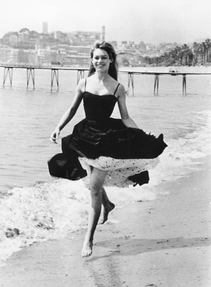 In Cannes, 1956