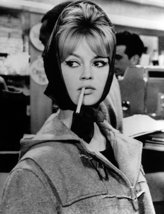 On set, circa. 1961