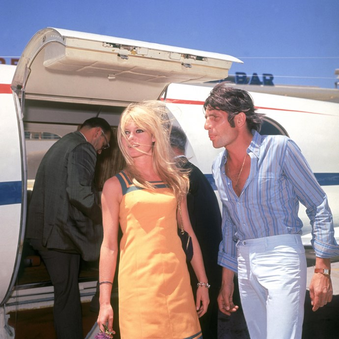 Arriving in Las Vegas with Gunther, 1966