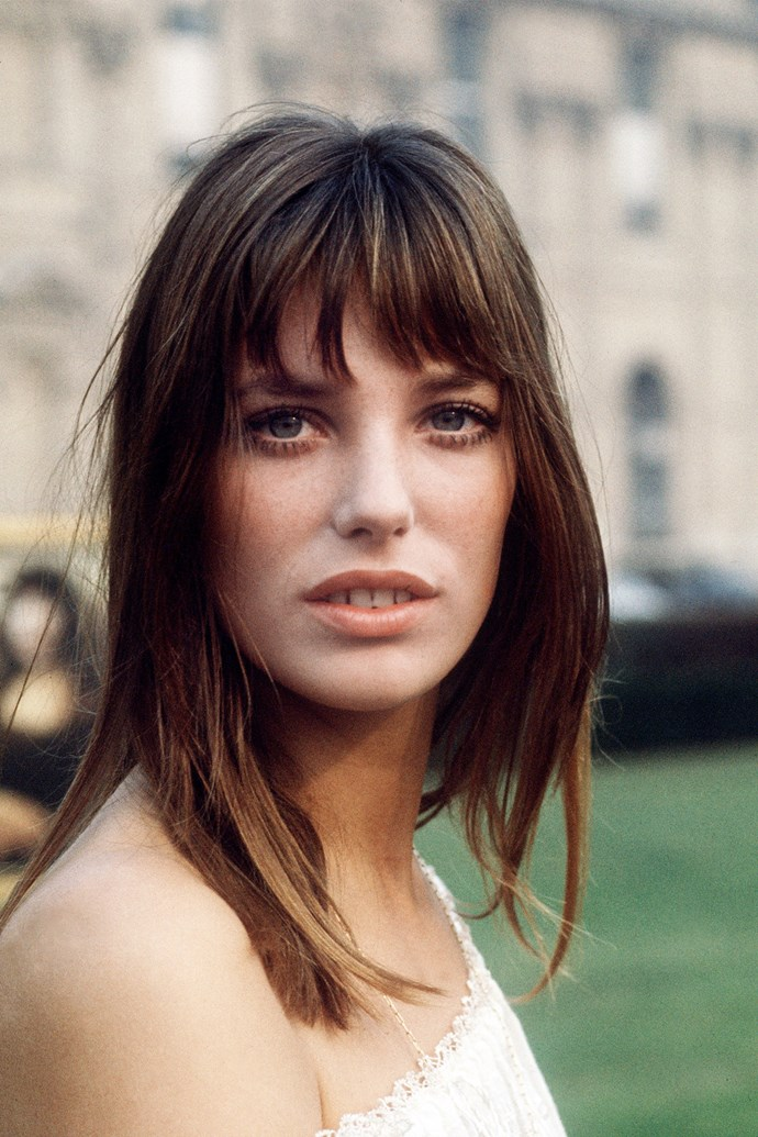 Her signature fringe, under-eye mascara and natural skin was a beauty combo that worked every time.