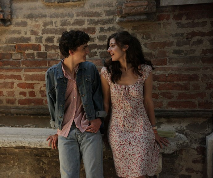 Elio and Marzia in *Call Me By Your Name*