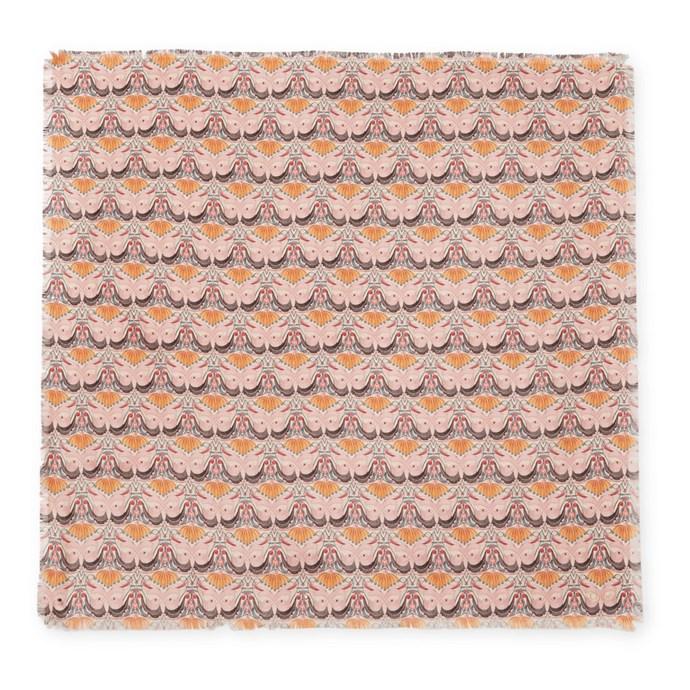 "Scarf by Chloé, $300 at [Net-A-Porter](https://www.net-a-porter.com/au/en/product/1060608/chloe/printed-silk-twill-scarf|target=""_blank""|rel=""nofollow"")."