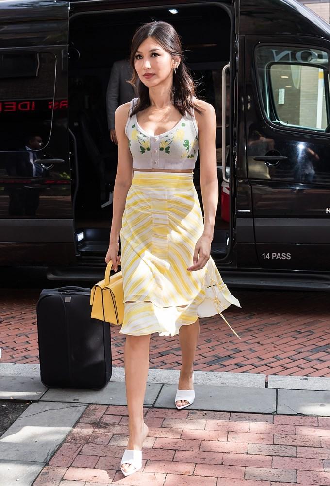 Gemma Chan in Altuzarra.