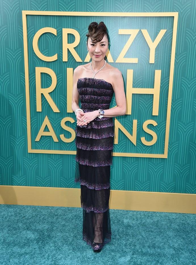 Michelle Yeoh in Armani Privé.