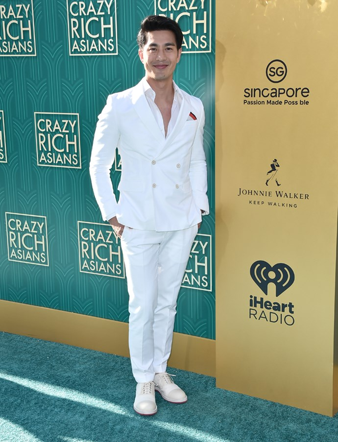 Pierre Png in Hugo Boss.