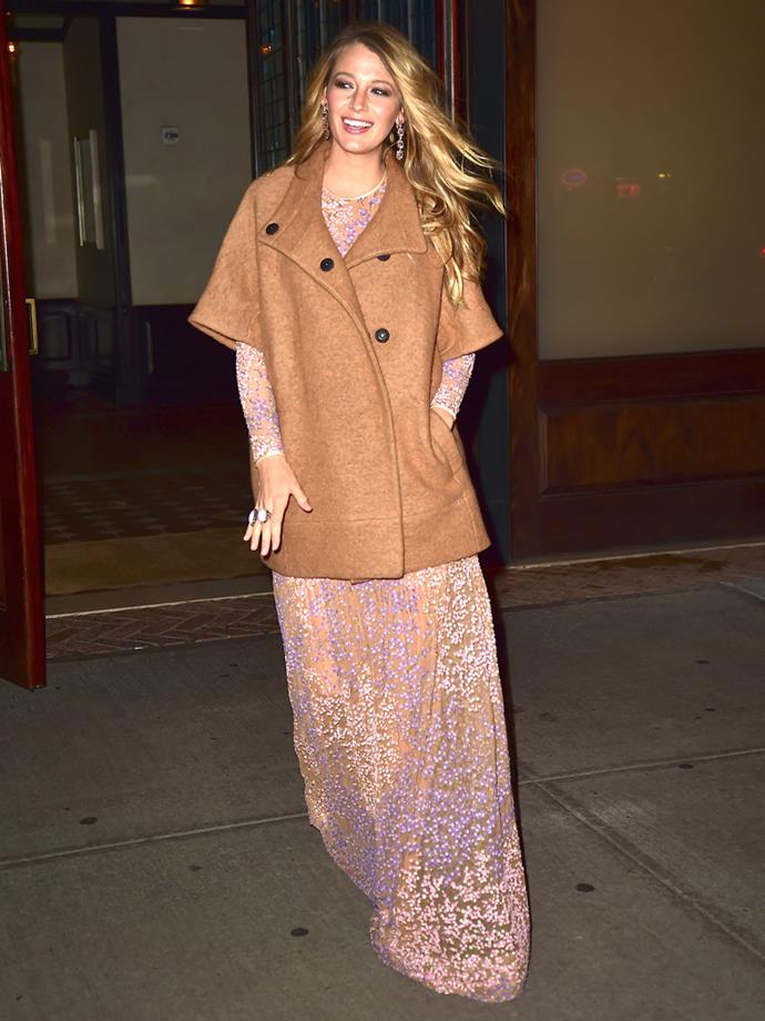 "Wearing Michael Kors at the ""God's Love We Deliver Golden Heart Awards"" in New York on 16th October, 2014"