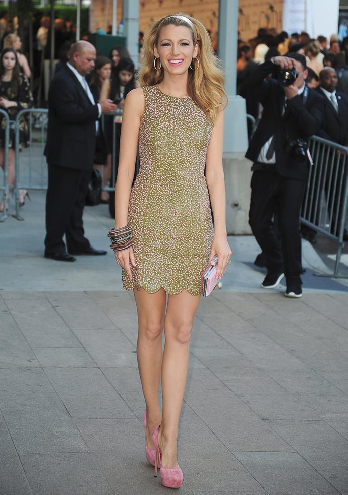 Wearing Michael Kors at the CDFA Awards in New York on 2nd June, 2014