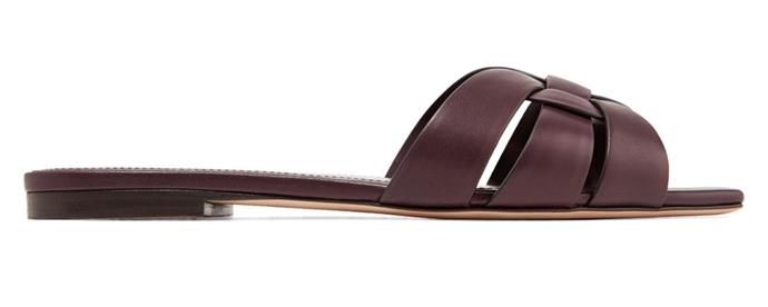 "Sandals by Saint Laurent, $790 at [MyTheresa](https://www.mytheresa.com/en-au/saint-laurent-sandali-nu-pieds-05-in-pelle-1022936.html?catref=category|target=""_blank""