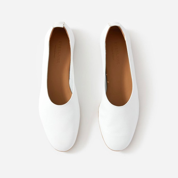 "The Day Glove, $155 at [Everlane](https://www.everlane.com/products/womens-day-glove-white?collection=womens-shoes|target=""_blank""