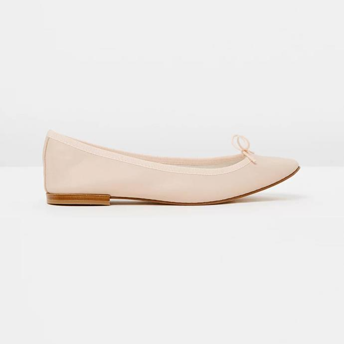 "Repetto Cendrillon Flat, $310 at [The Iconic](https://www.theiconic.com.au/cendrillon-545053.html|target=""_blank""