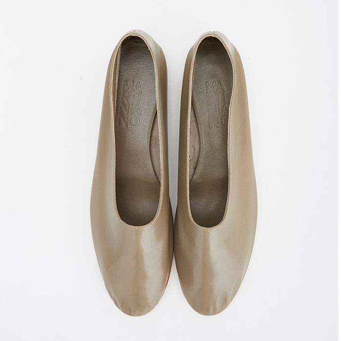 """Martiniano Glove Shoe, $550 at [My Chameleon](https://www.mychameleon.com.au/designer/martiniano/glove-shoe-champignon-martiniano target=""""_blank"""" rel=""""nofollow"""")"""