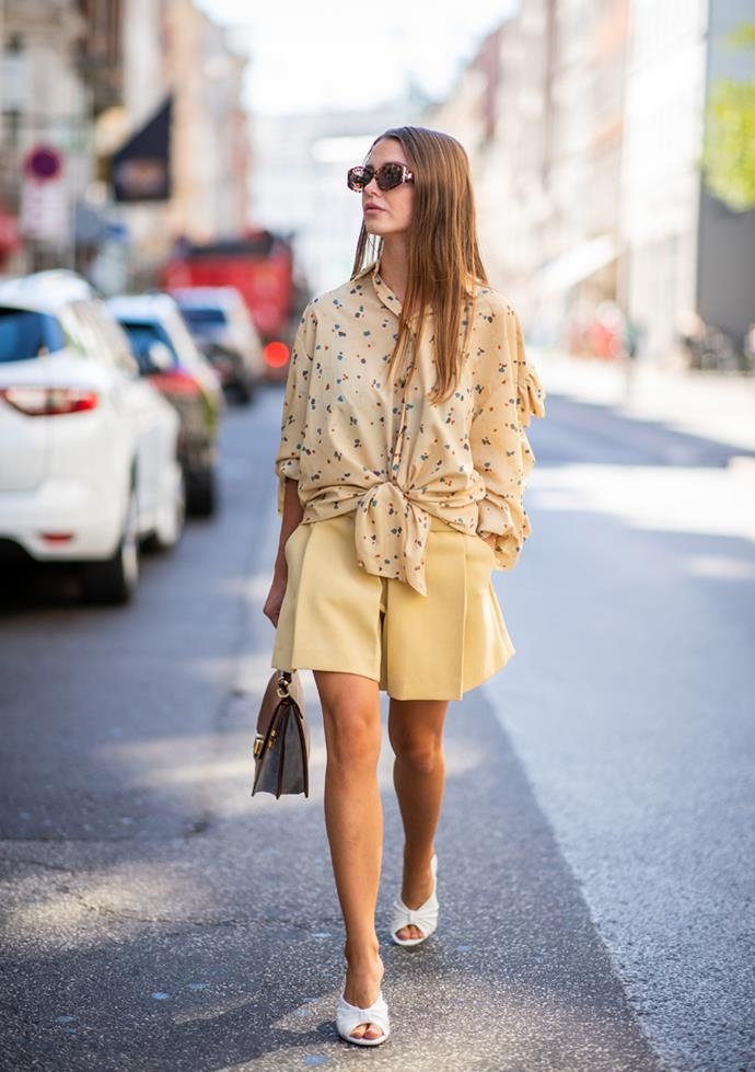 **4. Head-To-Toe Yellow**