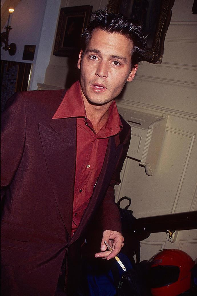 **Aquarius: Johnny Depp** <br><br> You love adventure and have a healthy penchant for breaking the rules. So it comes as no surprise that you're attracted to bad boy with a similarly renegade spirit, like Johnny Depp. After all, if you played it too safe you'd just get a bit bored.
