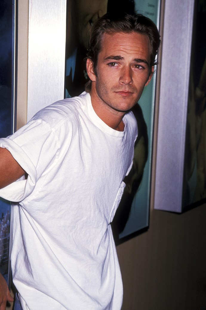 **Libra: Luke Perry** <br><br> You're a level-headed soul, Libra, and work best with someone who sees eye-to-eye with your views. It's for this reason that you should steer clear of the bad boy, in favour of someone who's creative and humble, like Luke Perry.