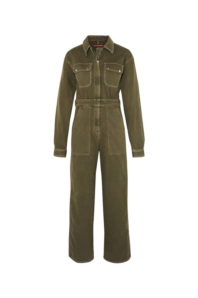 "***Boiler suits***<br><br> Khaki green is always a winner, and this ALEXACHUNG one comes with a cropped hem to lengthen the legs.<br><br> Boiler suit by ALEXACHUNG, $296 at [Net-a-Porter](https://www.net-a-porter.com/au/en/product/995627/ALEXACHUNG/denim-jumpsuit|target=""_blank""