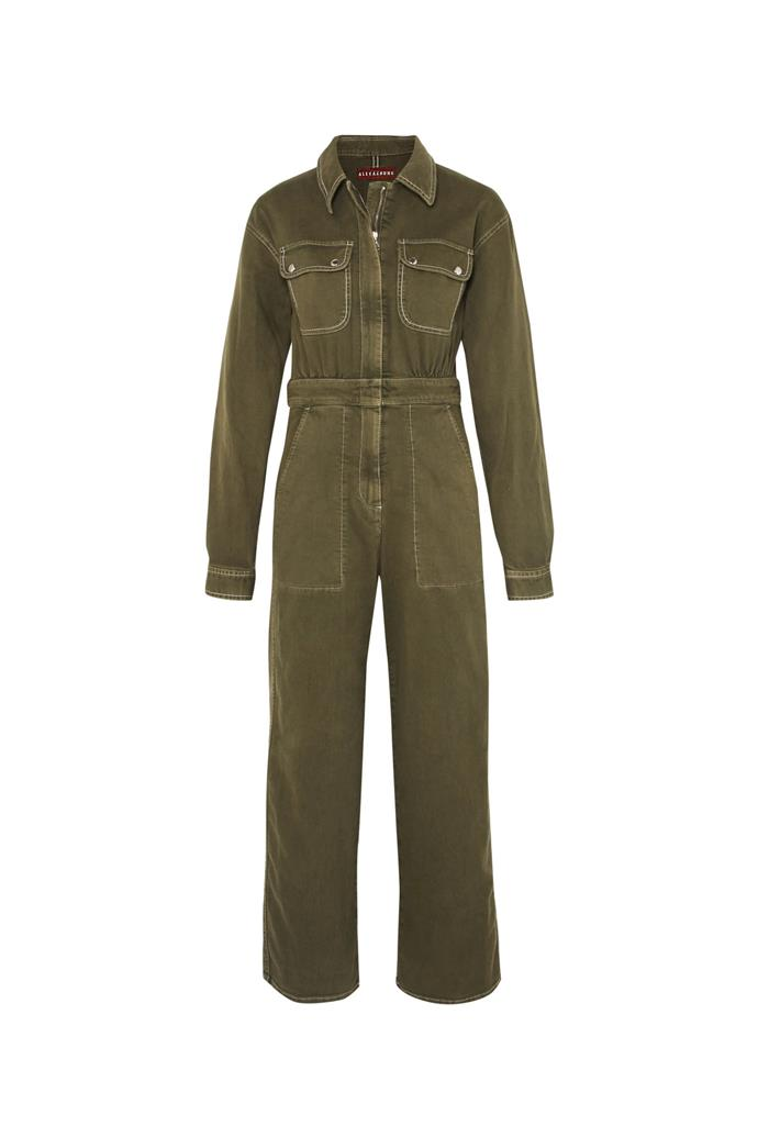 """***Boiler suits***<br><br> Khaki green is always a winner, and this ALEXACHUNG one comes with a cropped hem to lengthen the legs.<br><br> Boiler suit by ALEXACHUNG, $296 at [Net-a-Porter](https://www.net-a-porter.com/au/en/product/995627/ALEXACHUNG/denim-jumpsuit target=""""_blank"""" rel=""""nofollow"""")."""