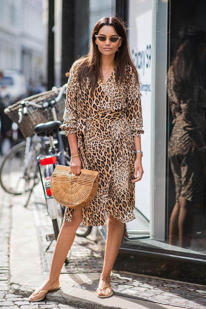 ***Animal prints***<br><br> Leopard, zebra or cheetah, animal prints are hot for summer. Start off in small doses via footwear or bags, and then finish big with an all-over look. Bonus points for wearing more than one type at once.