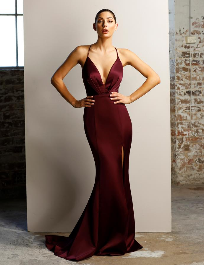 "'Berrie' gown, $460, [After Dark](https://www.afterdark.com.au/shop/black-tie-gowns/jx1011/|target=""_blank""