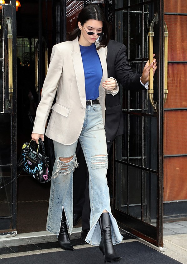"***Balenciaga City Bag: Now*** <br><br> The City Bag's popularity has stood the test of time—even if it has undergone a facelift or two (seen here on [Kendall Jenner](https://www.elle.com.au/fashion/kendall-jenner-style-file-10701|target=""_blank""))."