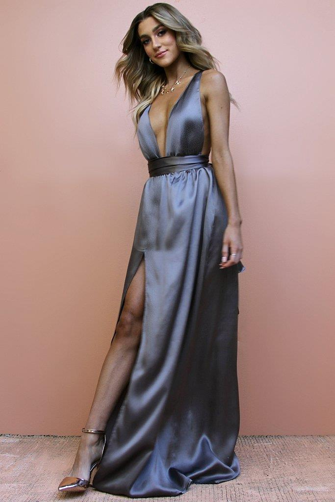 "Multiway gown, $569, [Sisters The Label](https://au.sistersthelabel.com/collections/gowns/products/satin-silk-slate-multiway-gown#3|target=""_blank""