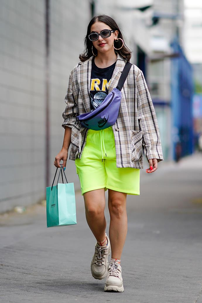 **4. Gym Shorts** <br><br> Paris Fashion Week spring/summer '19