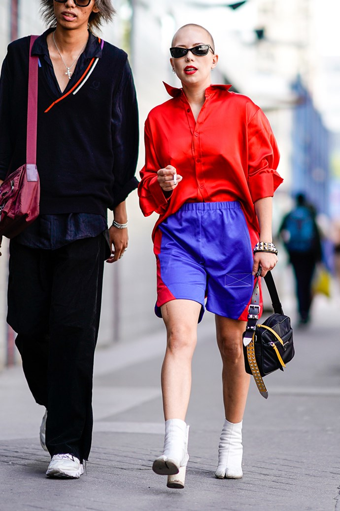 **4. Gym Shorts** <br><br> Paris Mens Fashion Week spring/summer '19