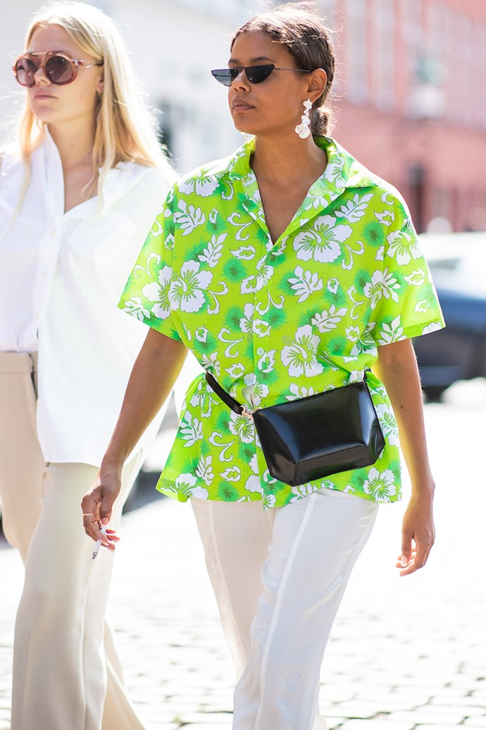 **3. Hawaiian Shirts** <br><br> Copenhagen Fashion Week spring/summer '19