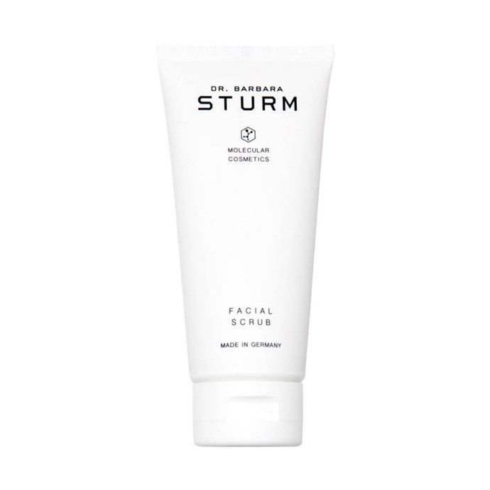 "Dr. Barbara Sturm Facial Scrub, $87 at [MECCA](https://www.mecca.com.au/dr-barbara-sturm/facial-scrub/I-031651.html|target=""_blank""