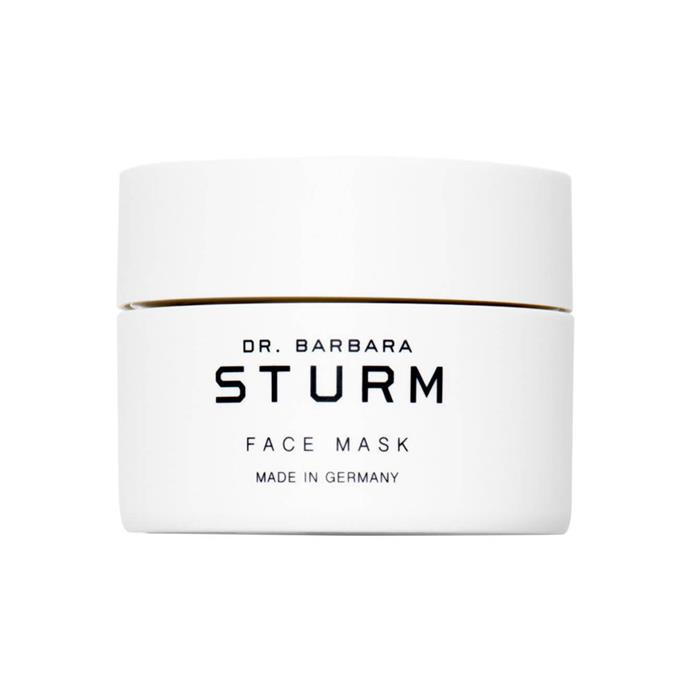 "Dr. Barbara Sturm Deep Hydrating Face Mask, $226 at at [MECCA](https://www.mecca.com.au/dr-barbara-sturm/deep-hydrating-face-mask/I-031656.html|target=""_blank""