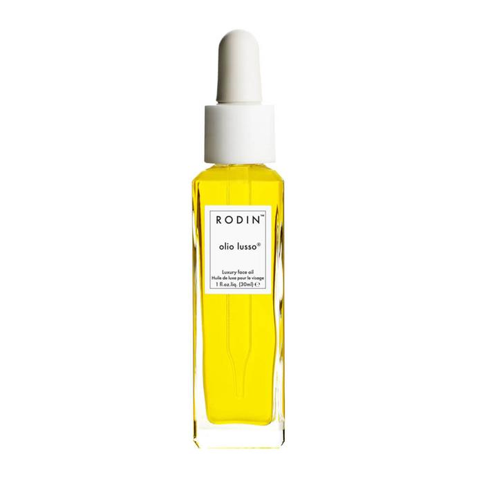 "Rodin Olio Lusso Luxury Face Oil, $249 at [MECCA](https://www.mecca.com.au/rodin-olio-lusso/luxury-face-oil-30ml/I-024109.html?gclid|target=""_blank""