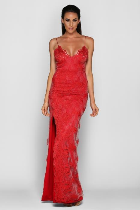 "Ashlea wore the 'Gemeli Power' gown by Motel Jay, via [My Dress Affair](https://www.mydressaffair.com.au/other-info-dresses/floor-length/gemeli-power-motel-jay|target=""_blank""|rel=""nofollow"")."