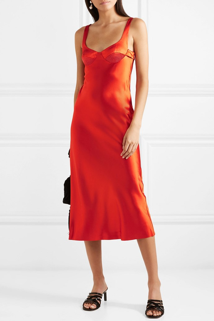 "Slip Dress by Dion Lee, $1,243 at [Net-A-Porter](https://www.net-a-porter.com/au/en/product/1067624/Dion_Lee/silk-satin-midi-dress|target=""_blank""
