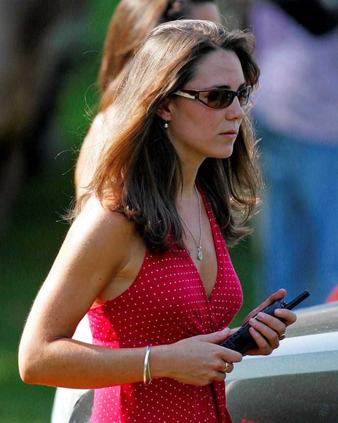 ***2006:*** Even the Duchess of Cambridge wasn't immune to the often regrettable sunglass trends of the 2000s.