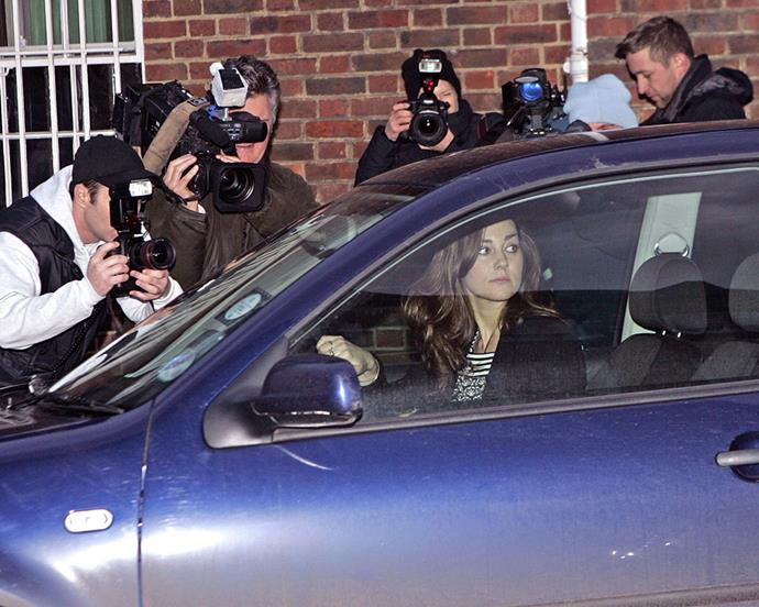 ***2007:*** Pictured leaving her London flat in her VW Golf on her 27th birthday—a setting we'll probably never see the world-famous Duchess in ever again.
