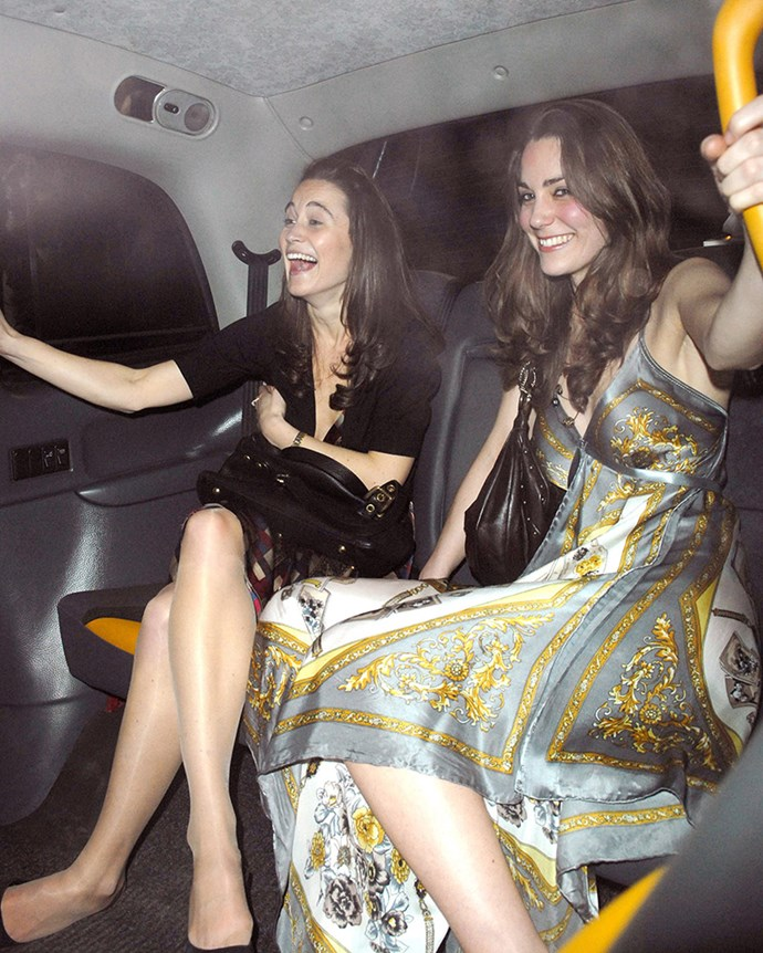 """***2007:*** In the back of a London taxi with younger sister [Pippa Middleton](https://www.elle.com.au/celebrity/jessica-mulroney-pippa-middleton-moment-17637