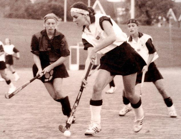 "***1990s:*** Kate pictured playing hockey in high-school. <br><br> *Image: [Daily Mail](http://www.dailymail.co.uk/femail/article-1330361/Kate-Middleton-nicknamed-Princess-waiting-school-shes-Queen-style.html|target=""_blank"")*"