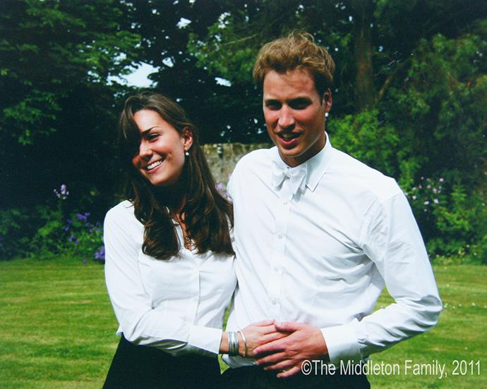 ***2005:*** With Prince William at their college graduation.  <br><br> *Copyright Middleton family*