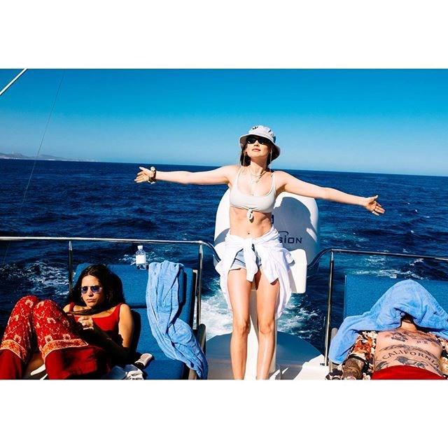 "**Behati Prinsloo-Levine** <br><br> *Image: [Instagram](https://www.instagram.com/p/BjNiCNbF9s3/?taken-by=behatiprinsloo|target=""_blank"")*"