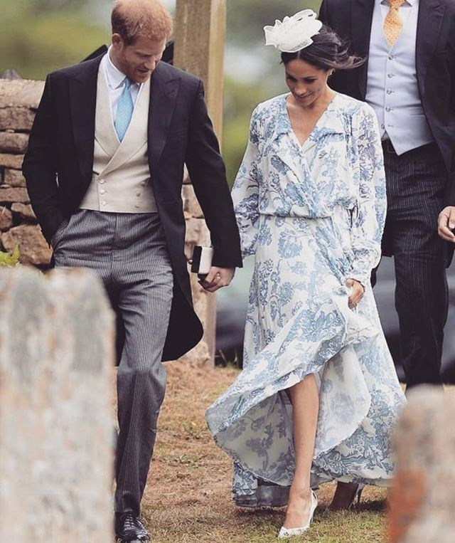 "***Outfits must always be tailored*** <br><br> The Duchess of Sussex shocked royal fashion fans when she wore this Oscar de la Renta bohemian-inspired gown in July. Aside from [dividing social media](https://www.harpersbazaar.com.au/fashion/meghan-markle-wedding-guest-dress-oscar-de-la-renta-16738|target=""_blank"") and fashion critics, the $7,000AUD dress undoubtedly strayed from royal tailoring expectations.  <br><br> *Image: Instagram [@bazaaraustralia](https://www.instagram.com/p/BkH3tjPg_tj/?utm_source=ig_embed