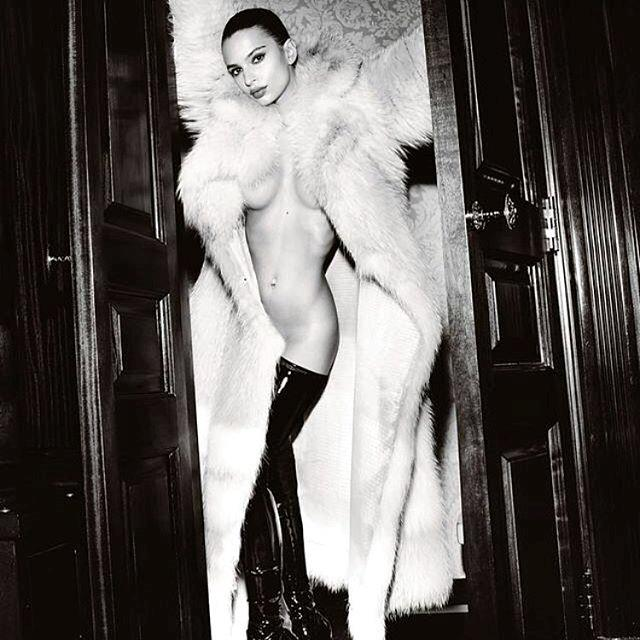"Taking Old Hollywood glam to a new level.  <br><br> Instagram: [@emrata](https://www.instagram.com/emrata/|target=""_blank""